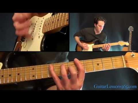 Communication Breakdown Guitar Lesson Pt.1 - Led Zeppelin - Rhythm Guitar Parts