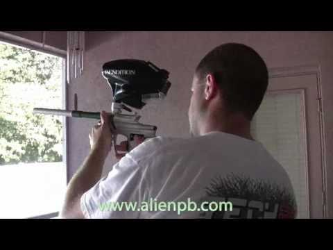 Prototype - 2011 Alien Invasion Paintball Gun