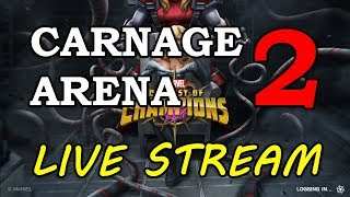 Carnage Arena - Part 2 | Marvel Contest of Champions Live Stream