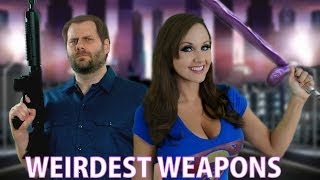 Weirdest Video Game Weapons! Screen Team Says
