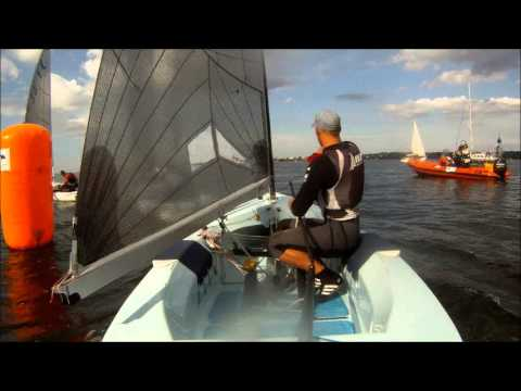 On Board with Josh Junior - 2013 Finn Gold Cup Medal Race