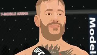 Kartun lucu (Khabib vs McGregor)