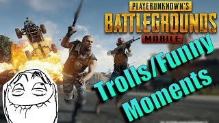 PUBG Mobile Trolls and Funny Moments | zkael★