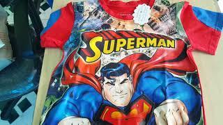 Đồ siêu nhân Superman có đèn cảm ứng