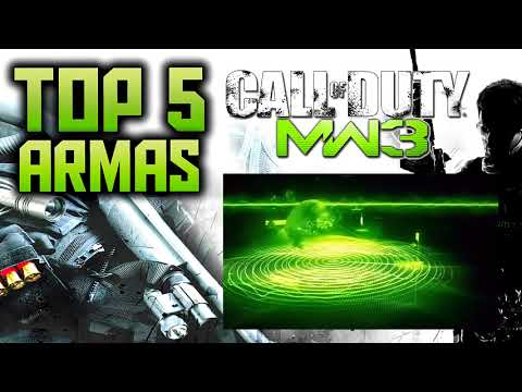 TOP 5 Armas de Call Of Duty Black Ops 2