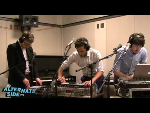Delphic - &quot;Counterpoint&quot; (Live at WFUV)