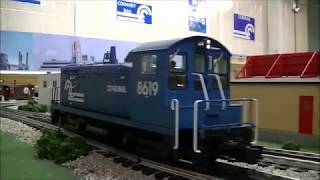 Conahey Rail SW8 in Switching Action