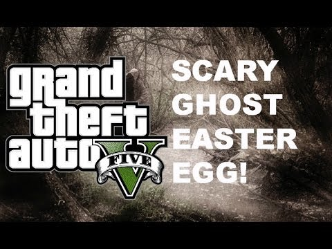 Scary ghost Easter egg!