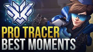 BEST PRO TRACER MOMENTS - Overwatch Montage