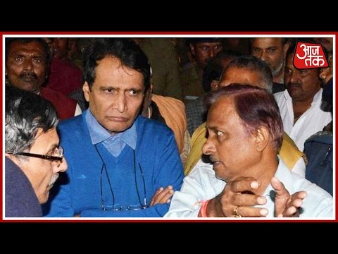 Suresh Prabhu Arrives At The Spot Of Accident