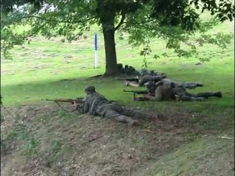 Battle of Remagen Bridge Reenactment - Tidioute, Pa - August 8, 2009 - Ending