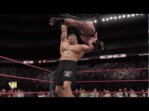 Brock lesnar vs Undertaker- Wrestling match