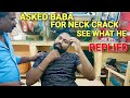 download mp3 dan video ASMR baba Sen the cosmic barber Head massage with demand for neck cracking.