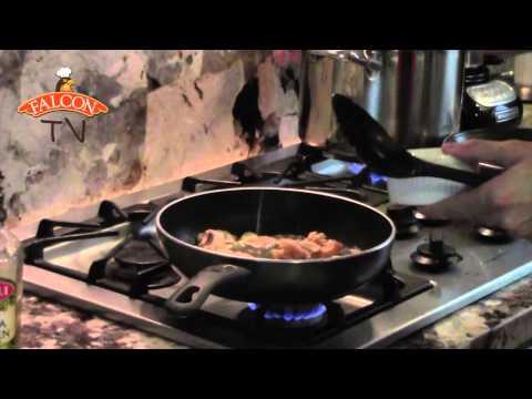 Receta Trucha en Salsa de Setas