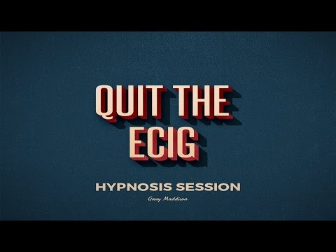 Quit The E-Cigarette Hypnosis Session