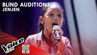 Jen-jen Anino - Sayang na Sayang | Blind Auditions | The Voice Kids Philippines Season 4