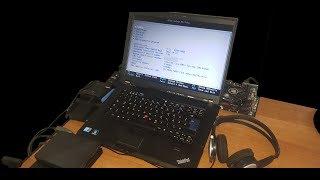 The ULTIMATE Windows XP Gaming Laptop - Core 2 Duo X9100, Radeon R7 240, Dual SSD