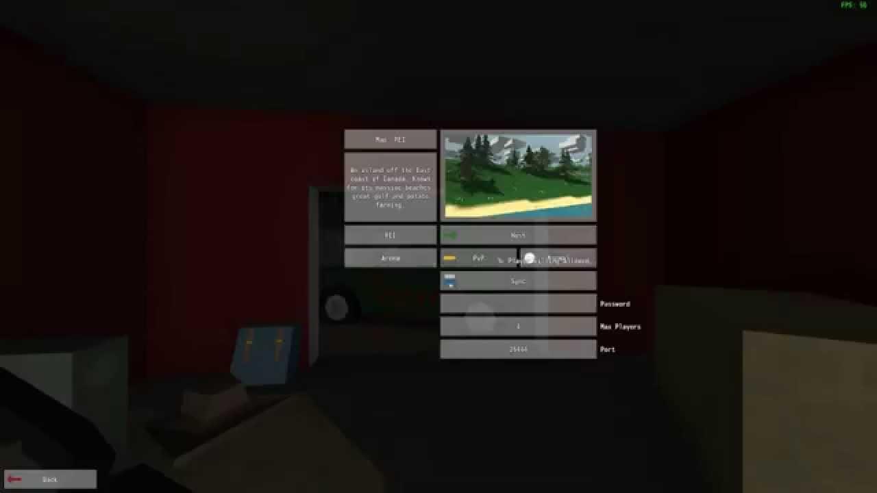 Как играть по сети в Unturned с помощью хамачи - YouTube