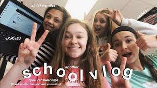 another school vlog....because you asked for it:)