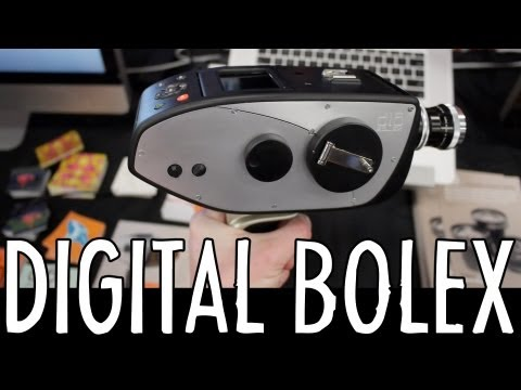 Hands-on: Digital Bolex Prototype & Lens Turret (SXSW Trade Show 2013)