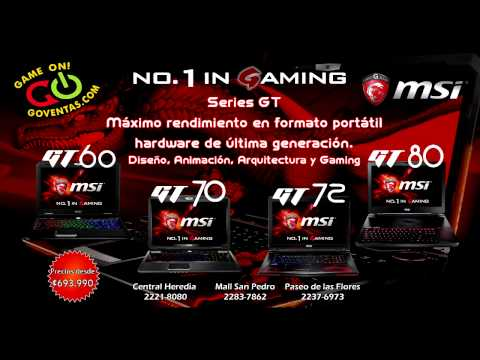959 arranca la promoción de las computadoras MSI en Game ON!