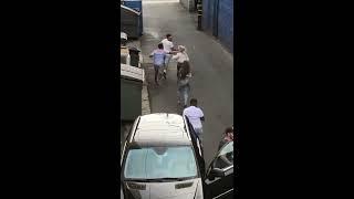 street fight girls vs men