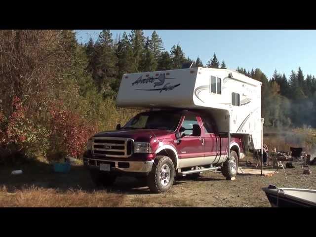 Arctic Fox Truck Camper in Natural Habitat