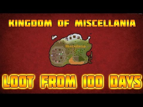 RuneScape 3: Loot From 100 Days Of Managing Miscellania