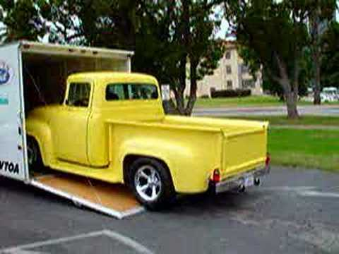 1956 Ford F100 Pickup at Veterans Show Music Videos