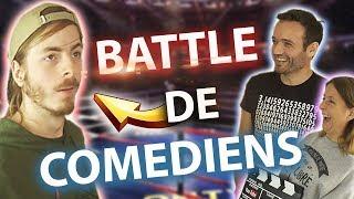 BATTLE DE COMEDIENS - Ft Cyril SuperKonar et Céline H