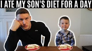 I ate my son's diet for a day