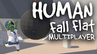 CLONES AND... JP, WHY? | Human Fall Flat Multiplayer Part 3
