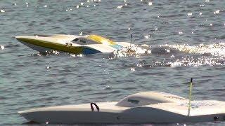 RC FE Boats Race Day lakeside 2014
