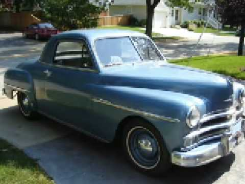 1950 Plymouth Business Coupe 9500 Jay Leno Youtube