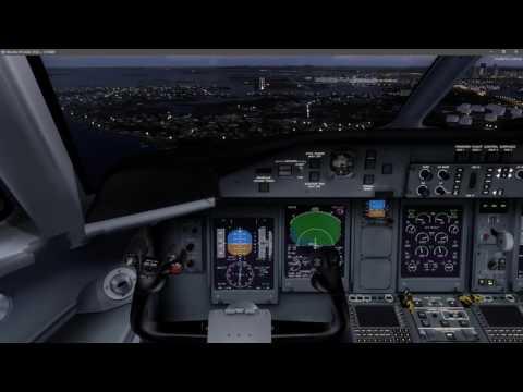 Arrivée KBOS 22L en Dash-8 Q400 .