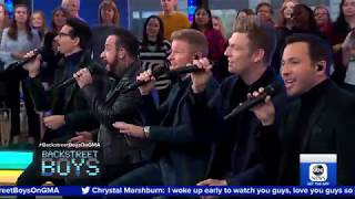 Bsb Sing No Place On Gma Bsbdna