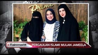 Mantap Berhijab, Kini Mulan Jameela Sibuk Ikuti Pengajian Umi Pipik - i-Tainment 14/09