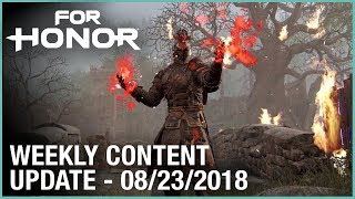 For Honor: Week 8/23/2018 | Weekly Content Update | Ubisoft [NA]