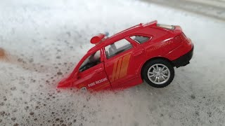 kids cars fall in the sink car wash for kids NEW Video