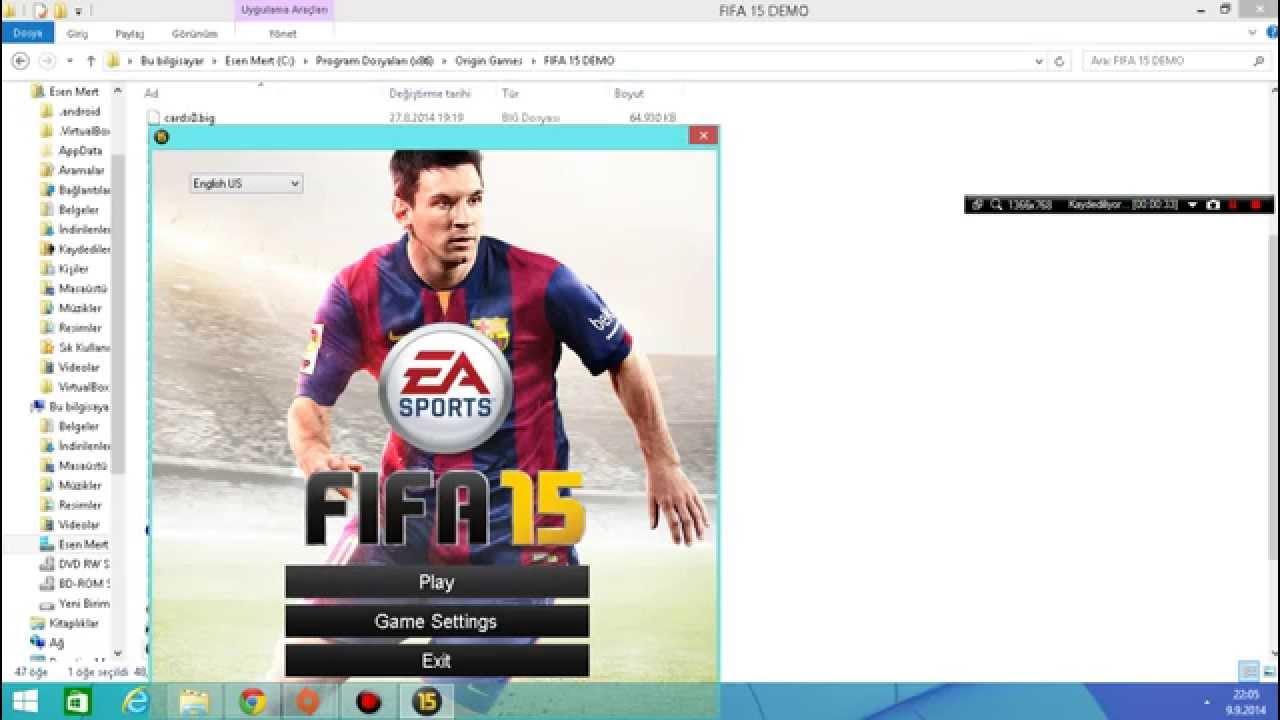 Скачать Fifaconfig для Fifa 15