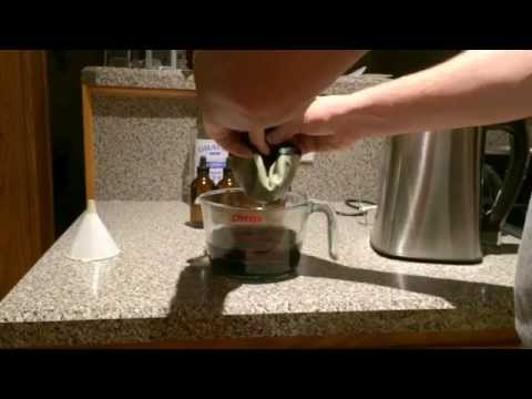 How to make Cannabis Tincture (Master Wu Method) with Magical Butter MB2