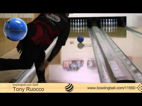 bowlingball.com Tony Ruocco Pyramid Blueprint Project 1.618 Bowling Ball Reaction Video Review