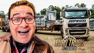 EURO TRUCK SIMULATOR 2 #32 | DESTRUÍ O CAMIÃO A TRANSPORTAR GADO VIVO