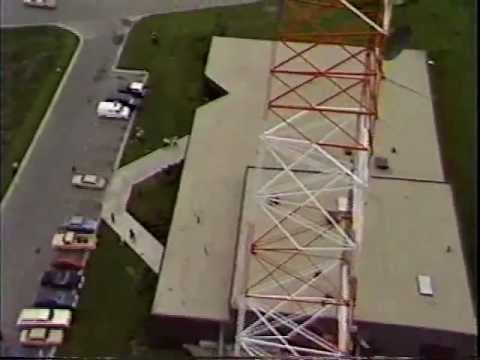 Helicopter Antenna Lift Cablenet Mt. Prospect 1983 Part 2