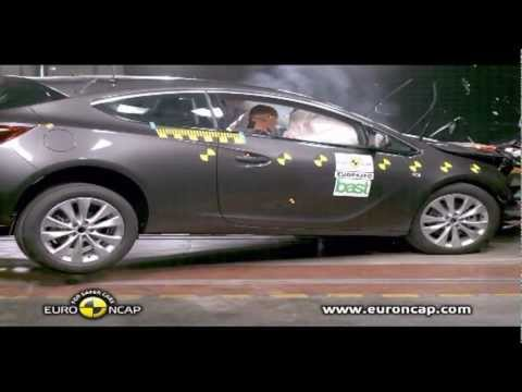 Opel Astra GTC 2012 Краш-тест Euro NCAP
