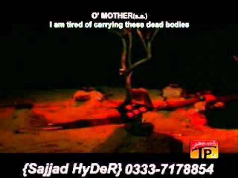 Nohay Syed Farhan Ali(ali Waris) 2011-2012-mainthak Gayahoon video