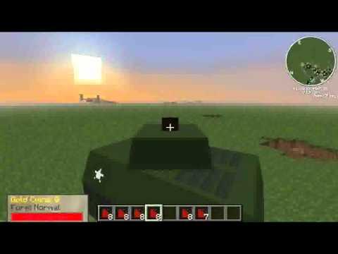 minecraft mod ww2 avião e carros (link da pasta .minecraft)