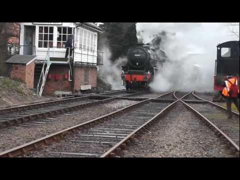 NNR's Raising The Standard Steam Gala 8th 9th 10th March 2013 Part 4