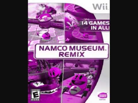 Namco Museum Remix Soundtrack - Galaga World 1
