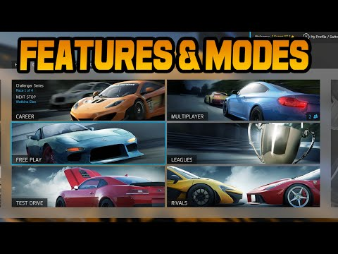 Forza 6 All Modes & Features (Game Overview)
